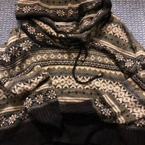 Nordstrom knit sweater with hood